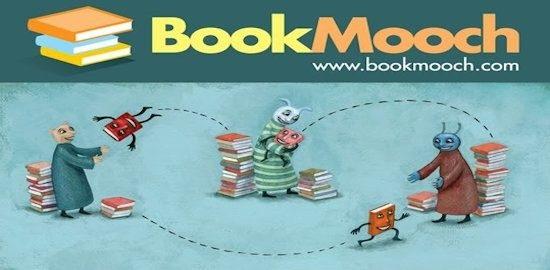 BOOKMOOCH: Il sito gratuito per lo scambio di libri