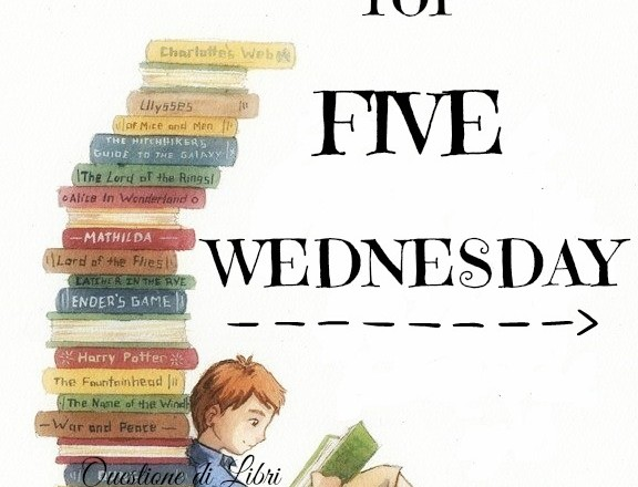 TOP 5 WEDNESDAY | Libri che non ho MAI concluso!