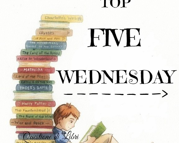 TOP 5 WEDNESDAY | Personaggi che vorresti poter affogare