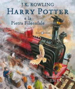 cover Harry Potter e la pietra filosofale ed illustrata