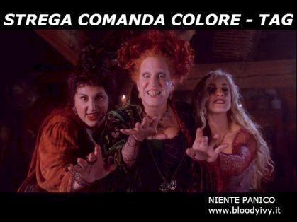 STREGA COMANDA COLORE   Tag!