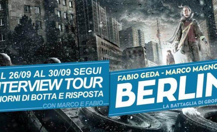INTERVIEW TOUR | Fabio Geda & Marco Magnone