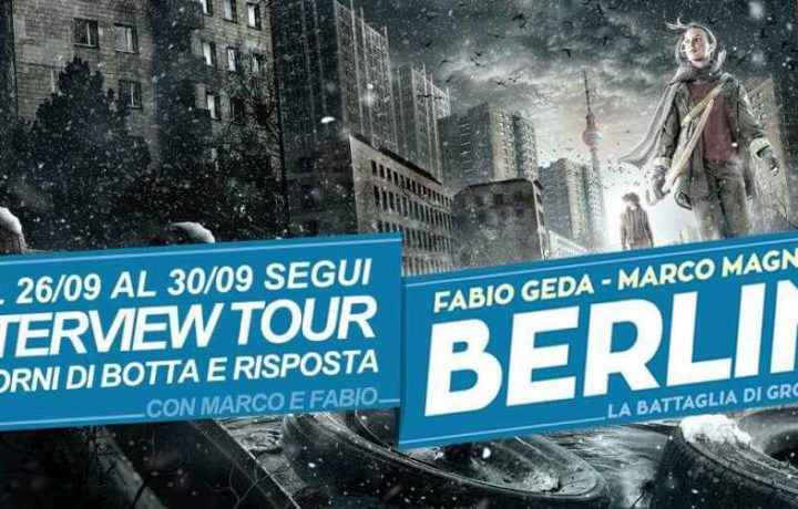 INTERVIEW TOUR | Fabio Geda & Marco Magnone