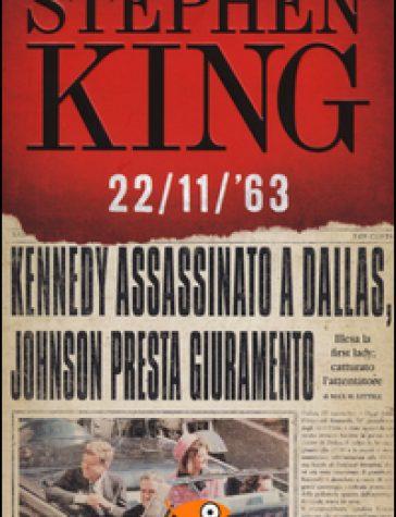 "BLOGTOUR   Recensione di ""22/11/'63"" di Stephen King"