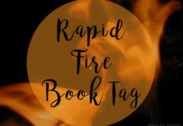 RAPID FIRE | Book Tag!